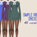 midnightskyims — So I got a new recolour for you guys. It's a dress…