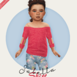 Fabienne Sabella Shirt – Toddler Version ♥