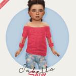 FabienneSabella Shirt – Toddler Version ♥