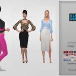 Lumy-sims Saige Top Recolor It's a standalone… – E L F D O R