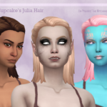 Julia Hair – Recolored in The Witching Hour Palette