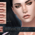 Teeth detail for lipsticks (TS4)