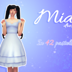 Sim Mandy | IT'S FINALLY DONE!! This dress was a lot different…