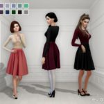 Eva Zetta's Elizabeth Skirt Recolor – Mesh needed