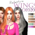 Shibui Sims' Retexture Wings OE0208 – Mesh needed