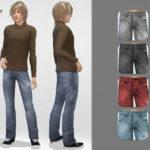 remaron's Denim pants for men