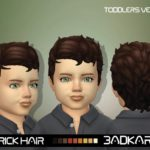 BADKARMA's Rick Hair (Toddlers Version)