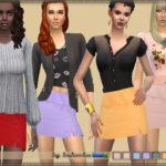 bukovka's Slit Skirt