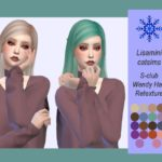 Lisaminicatsims S-club Wendy Hair Retexture – Mesh needed