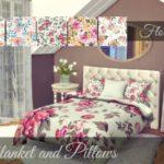 Sooky's Floral Bedding – Severinka's Alwine Recolor-MESH NEEDED