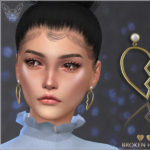 Giulietta-Sims: Broken Heart Earrings