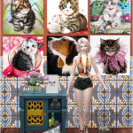 Jennisims: Downloads sims 4:Paintings Magical Moments (26 designs)
