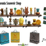 Around the Sims 4 | Custom Content Download | Selvadorado Souvenir Shop