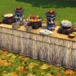Castaway Stories Buffet Table