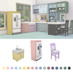 Miss Ruby Bird — Parenthood Kitchen Recolor Update I updated the…