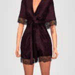 elliesimple – satin robe