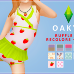☼akyo. : Some recolors of @deetron-sims​'s cute af ruffle…