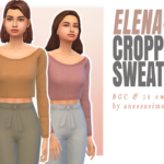 Elena Cropped Sweater