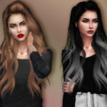 Sharareh's Skysims' 262 hair retexture