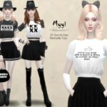 Helsoseira's MYYI – Crop Top – Female