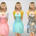 Devirose's Happy Spring Day Dress