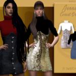 Jenner Corset Dress | BlueRose-Sims
