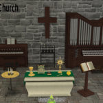 Around the Sims 4 | Custom Content Download | Church