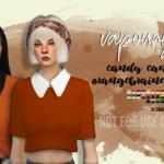 [VAPOURYSIMS] CCS ORANGEBRAINED COCO SWEATER RECOLOR