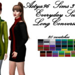 Astya96 – Sims 3 Store Everyday Scarf Long Conversion by…