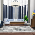 Hamptons Builtin – Integrated Furniture Options for The Sims 4
