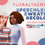 FLORALTAENY : FLORALTAENY'S SPEECHLESS SWEATER RECOLOR 16…