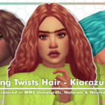 KIARAZURK LONG TWISTS HAIR RECOLOR