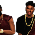XxBlacksims – Braided Man Bun new mesh:)