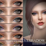 S-Club WM thesims4 Eyeshadow 201804
