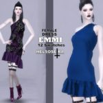 Helsoseira's EMMI – Short Dress – FM
