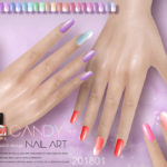 S-Club ts4 LL Nails 201801