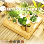 Pralinesims' XEEV Wood Floors