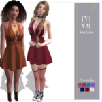 Yumi | * Can recolor * 7 Swatches * Original Mesh * HQ…