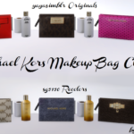SG5150 MICHAEL KORS MAKEUP BAG CLUTTER