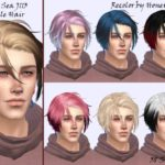 Skraja's NewSea J113 male hair recolor – Mesh needed