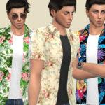 Birba32's Spring flowers shirt