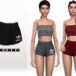 Puresim's Adidas Sporty Shorts