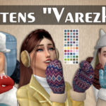 "An Unearthly Child Mittens ""Varezhki"""