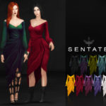 Sentate – Morgana Wrap Dress