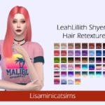 Lisaminicatsims' LMCS LeahLillith Shyene Hair Retexture
