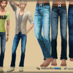 bukovka's Pants Denim
