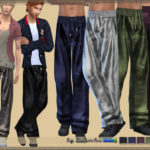 bukovka's Pants Satin