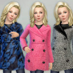 lillka's Winter Coat for Girls