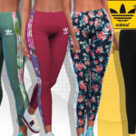 Pinkzombiecupcakes' Summer Adidas Floral Athletic Pants