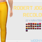 moony geek: Robert Joggers Recolor 22 swatches